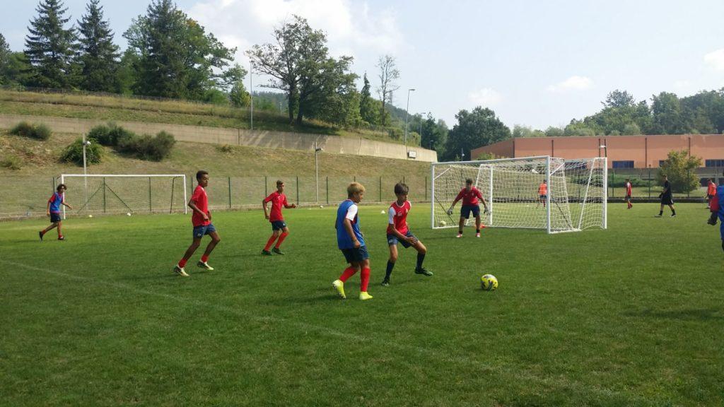 Reggio Calcio in ritiro, 150 ragazzi a Sportilia per vivere un'esperienza da professionisti
