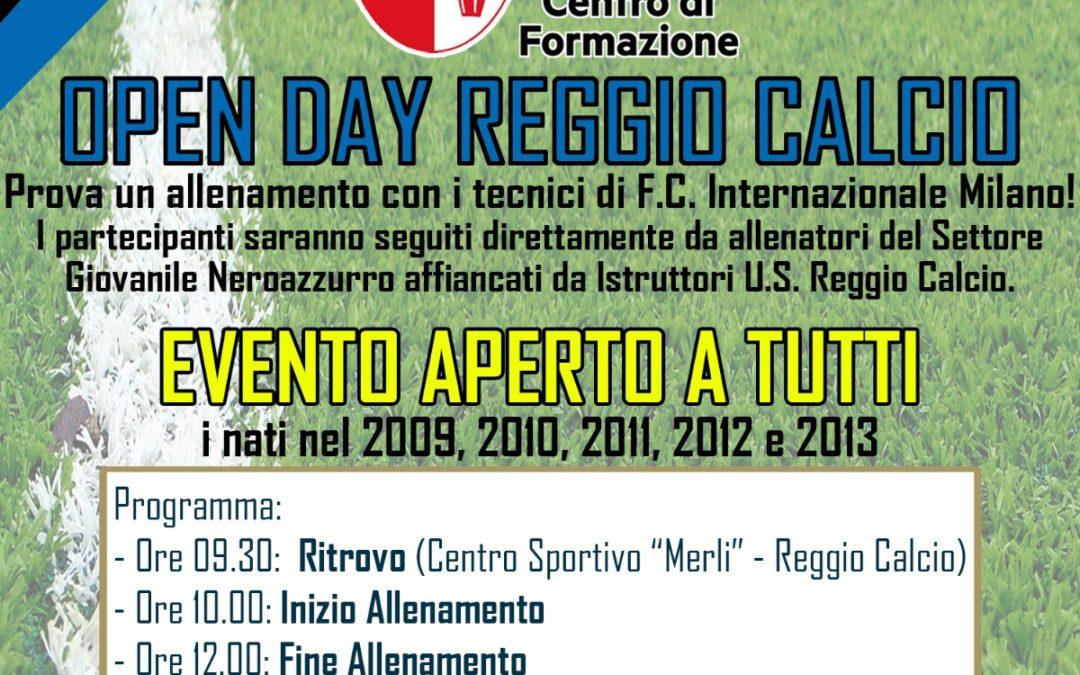 Reggio Calcio, sabato 3 luglio l'Open Day con l'Inter
