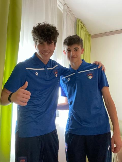 Reggio Calcio, cinque convocati in Nazionale Under 16 in tre anni: ora tocca a Guadalupi e Tinarelli